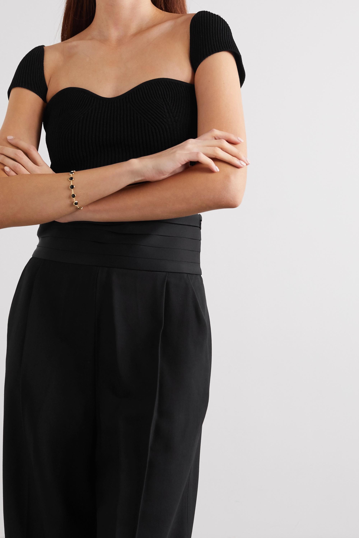 Khaite Ista ribbed-knit top