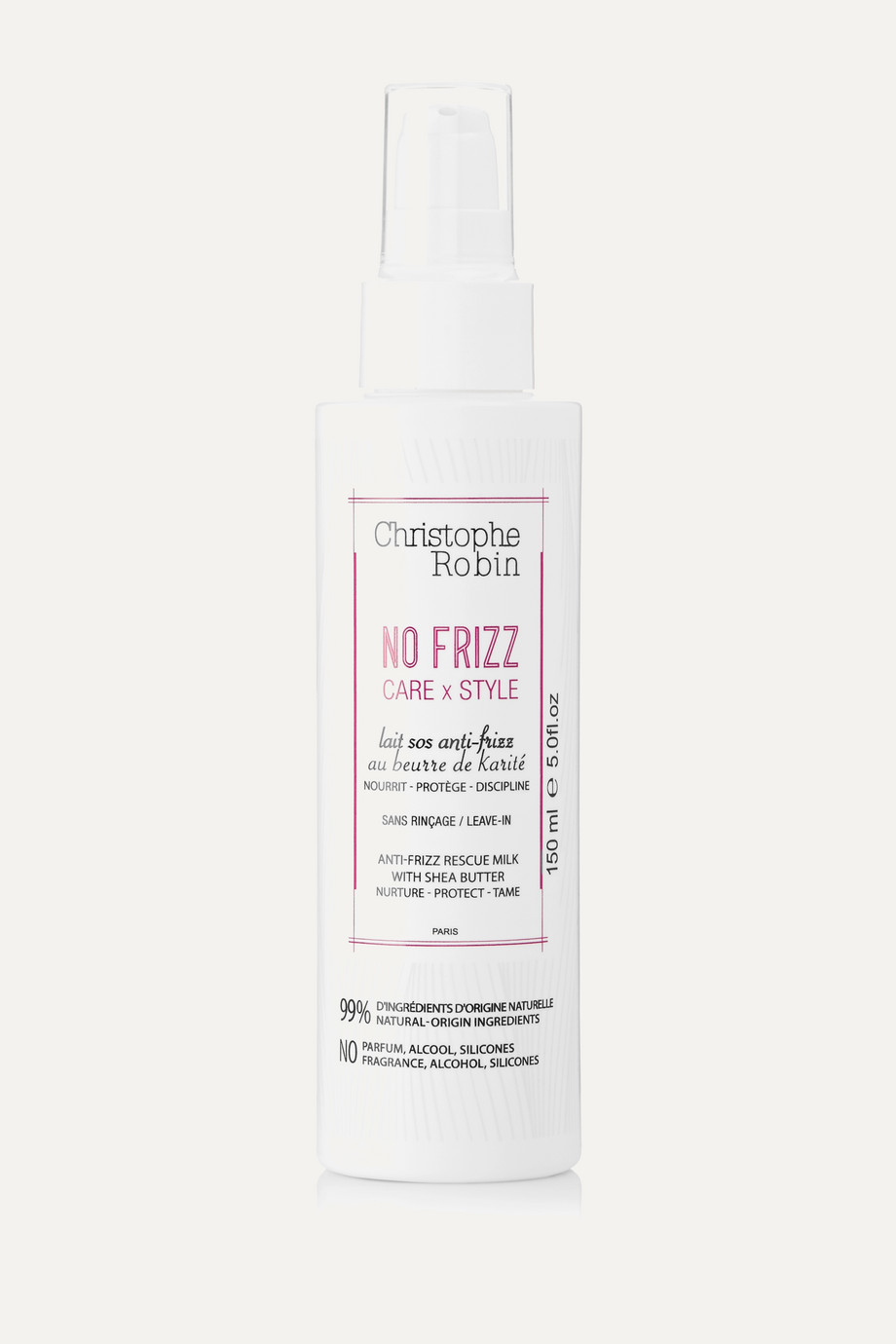 Christophe Robin Anti-Frizz Rescue Milk, 150ml