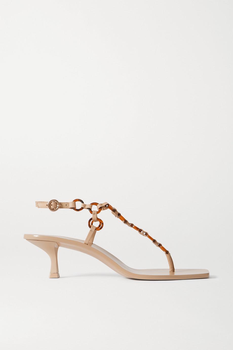 Cult Gaia Caitlyn 带缀饰皮革凉鞋