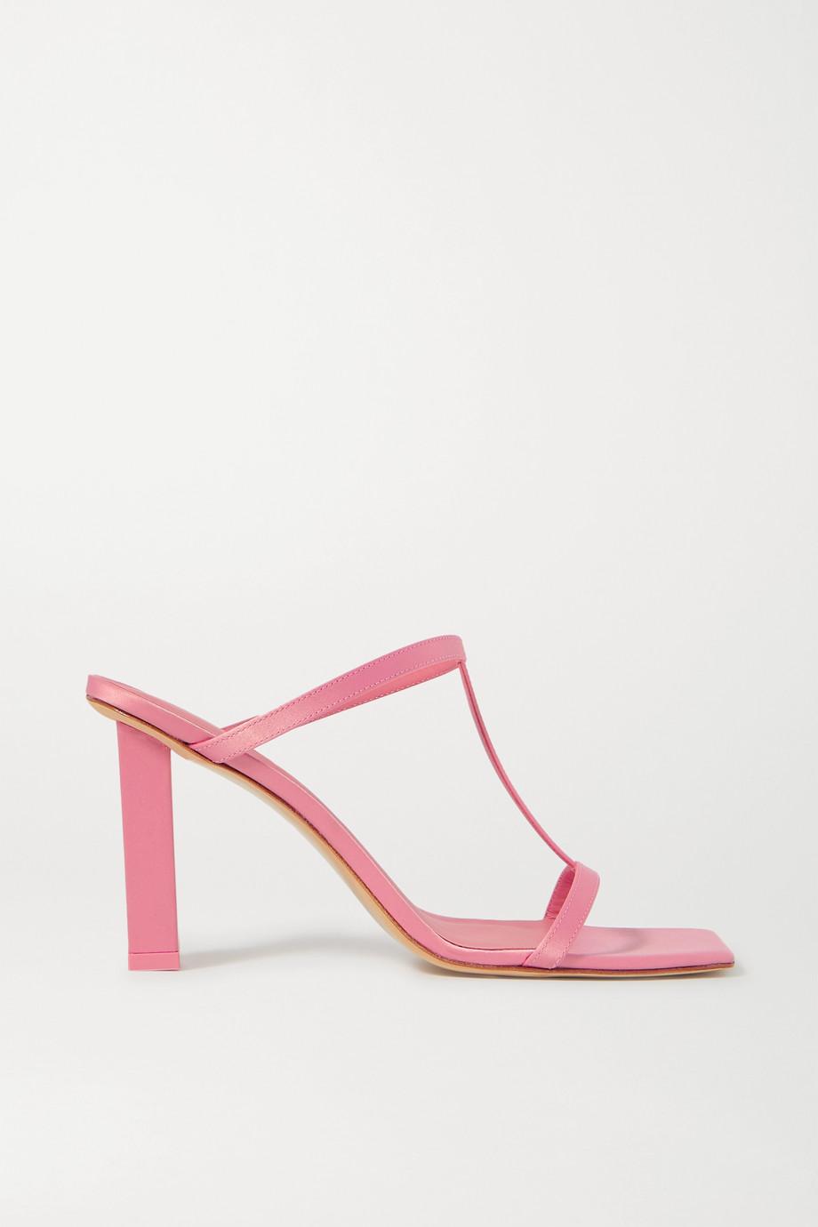 Cult Gaia Piper 罗缎穆勒鞋