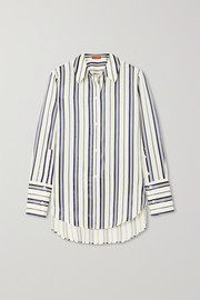 Altuzarra Giselda striped Lyocell-blend shirt