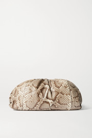 Bottega Veneta The Pouch large python clutch