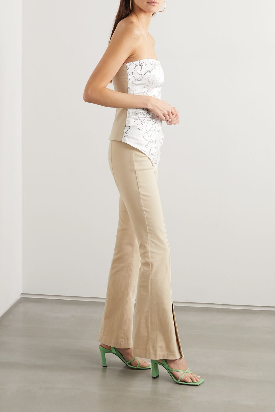 Maggie Marilyn Still Dreaming stretch-organic cotton flared pants