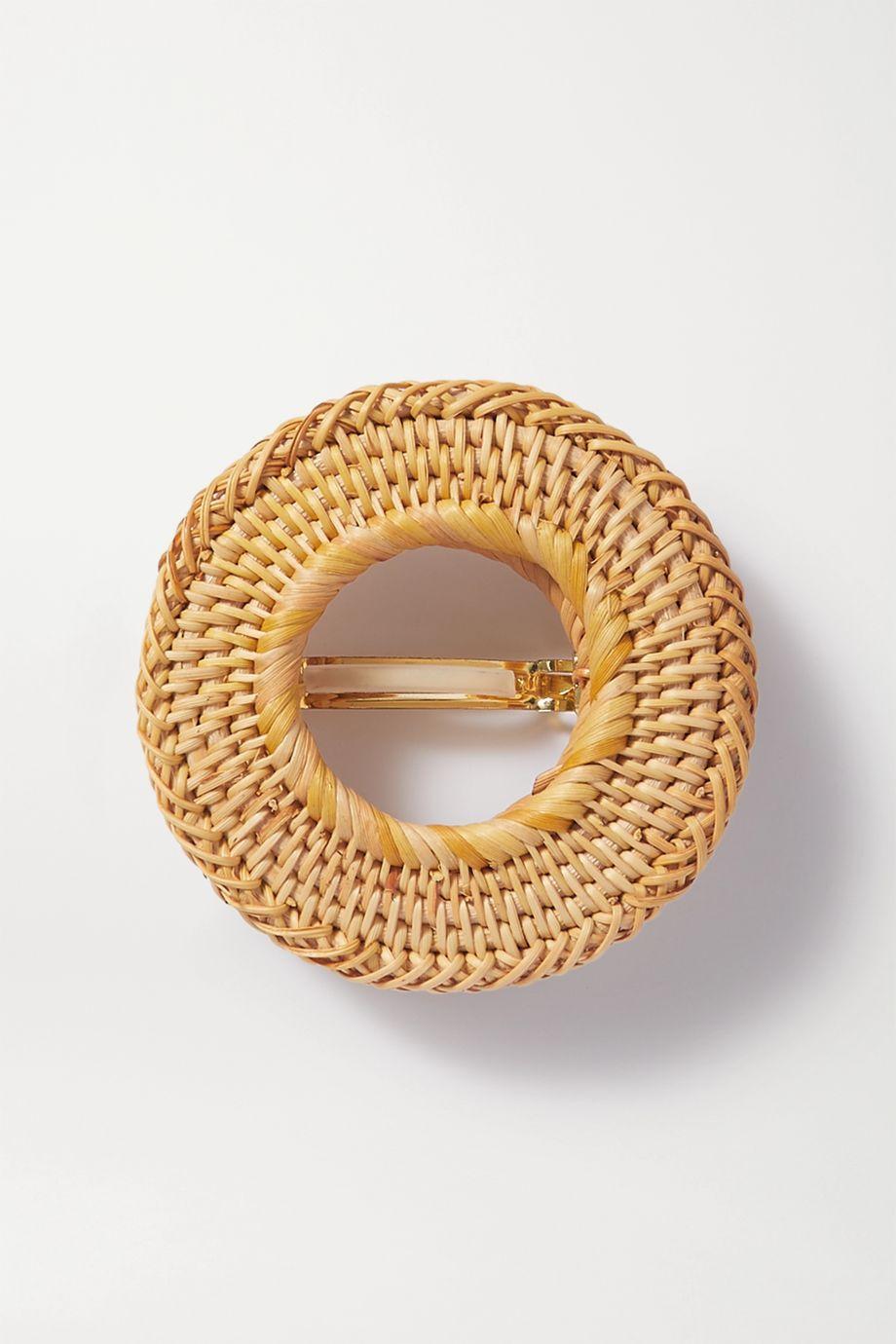 Cult Gaia Gemma raffia hair clip
