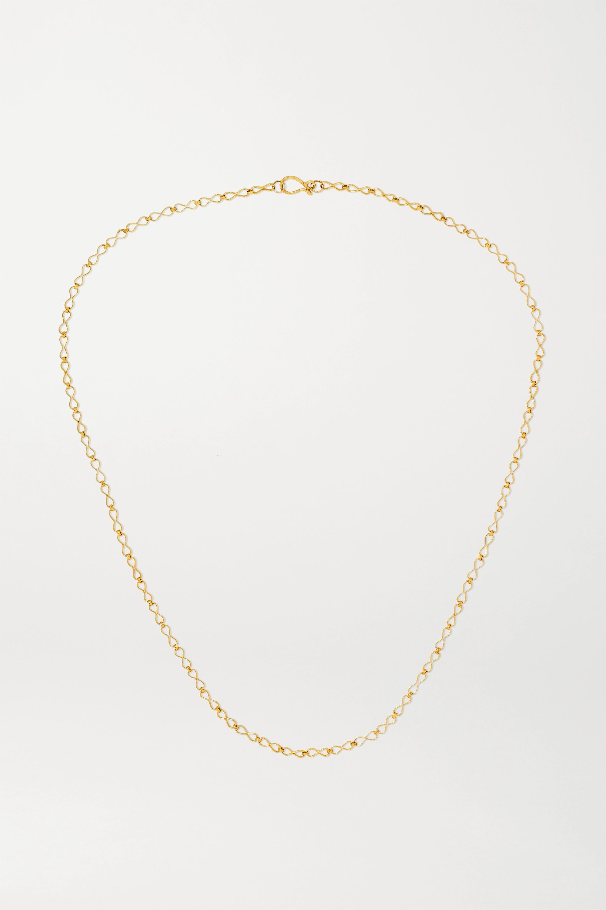 Pippa Small 18-karat gold necklace