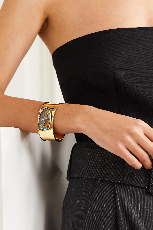 Kimberly McDonald Lot de deux bracelets en or 18 carats et opales