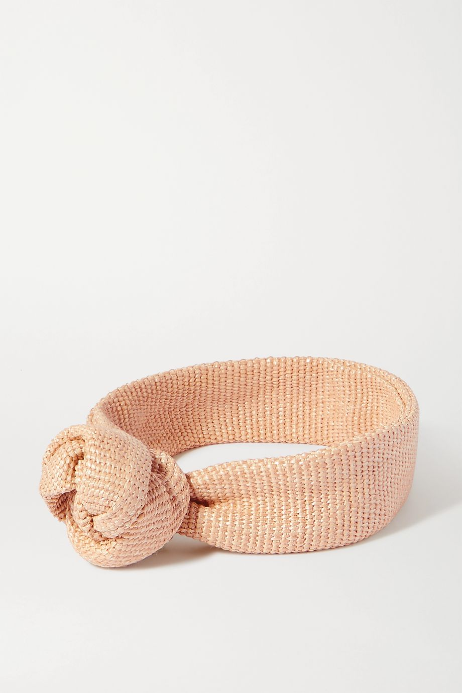 Cult Gaia Turband knotted cotton-blend headband