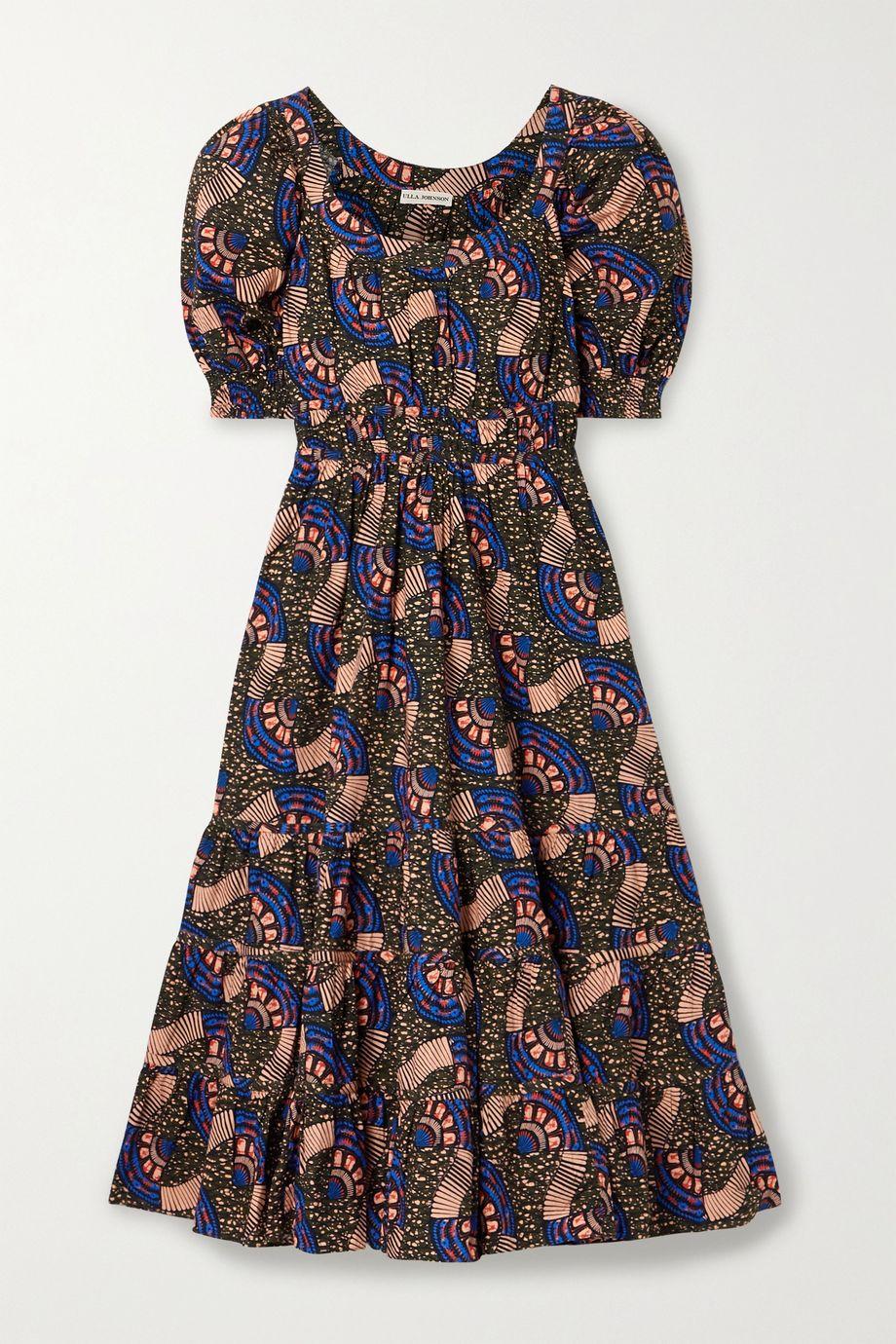Ulla Johnson Juniper floral-print cotton-poplin midi dress
