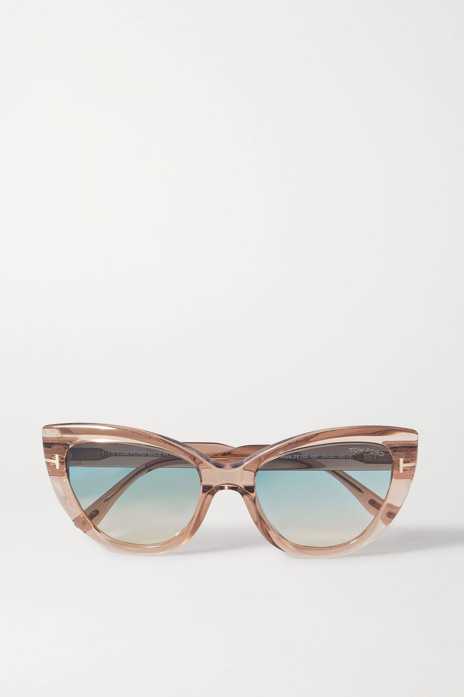 TOM FORD Cat-eye acetate sunglasses