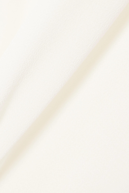 White Silk-crepe Tank | Vince