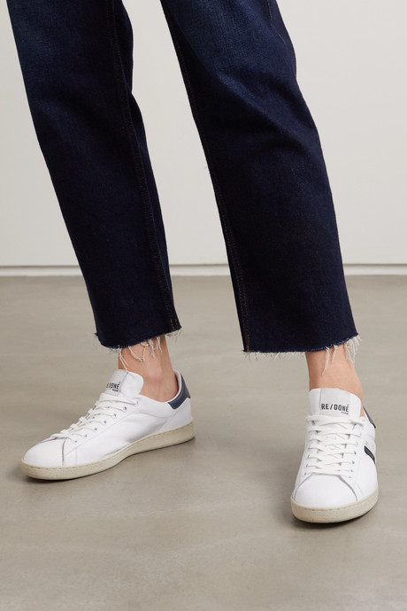 70s Tennis leather sneakers