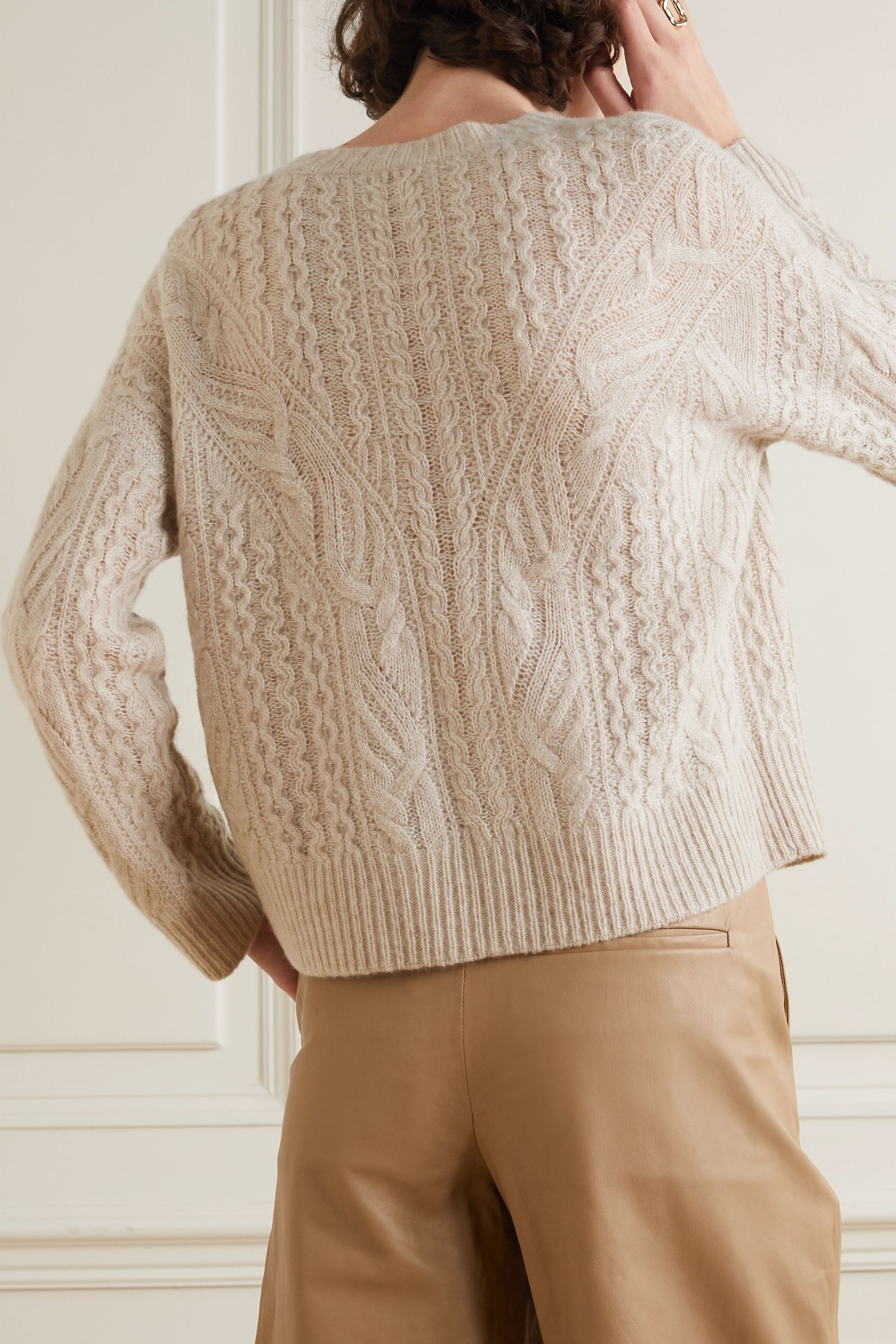Vince Cable-knit sweater