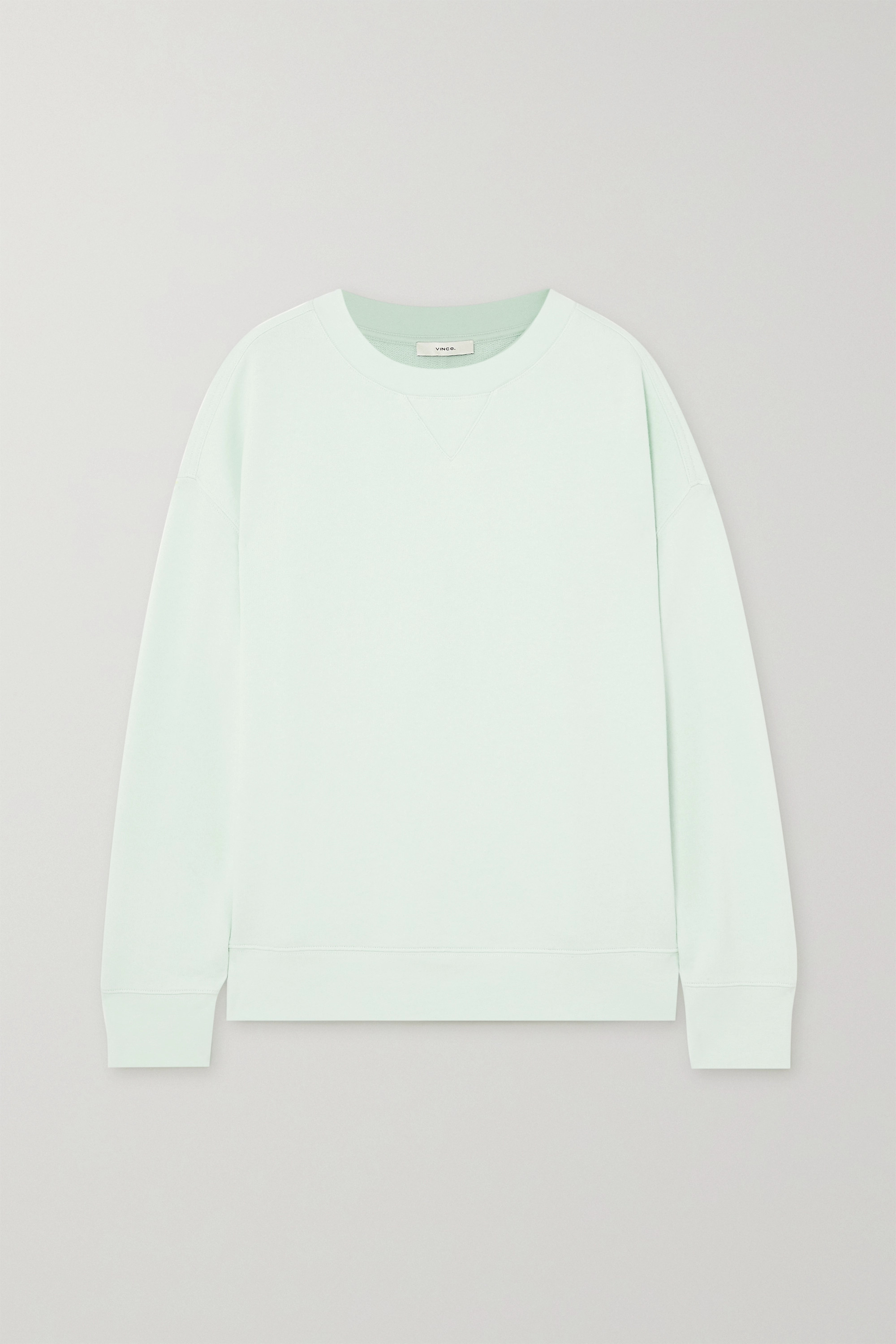 Vince Cotton-jersey sweatshirt