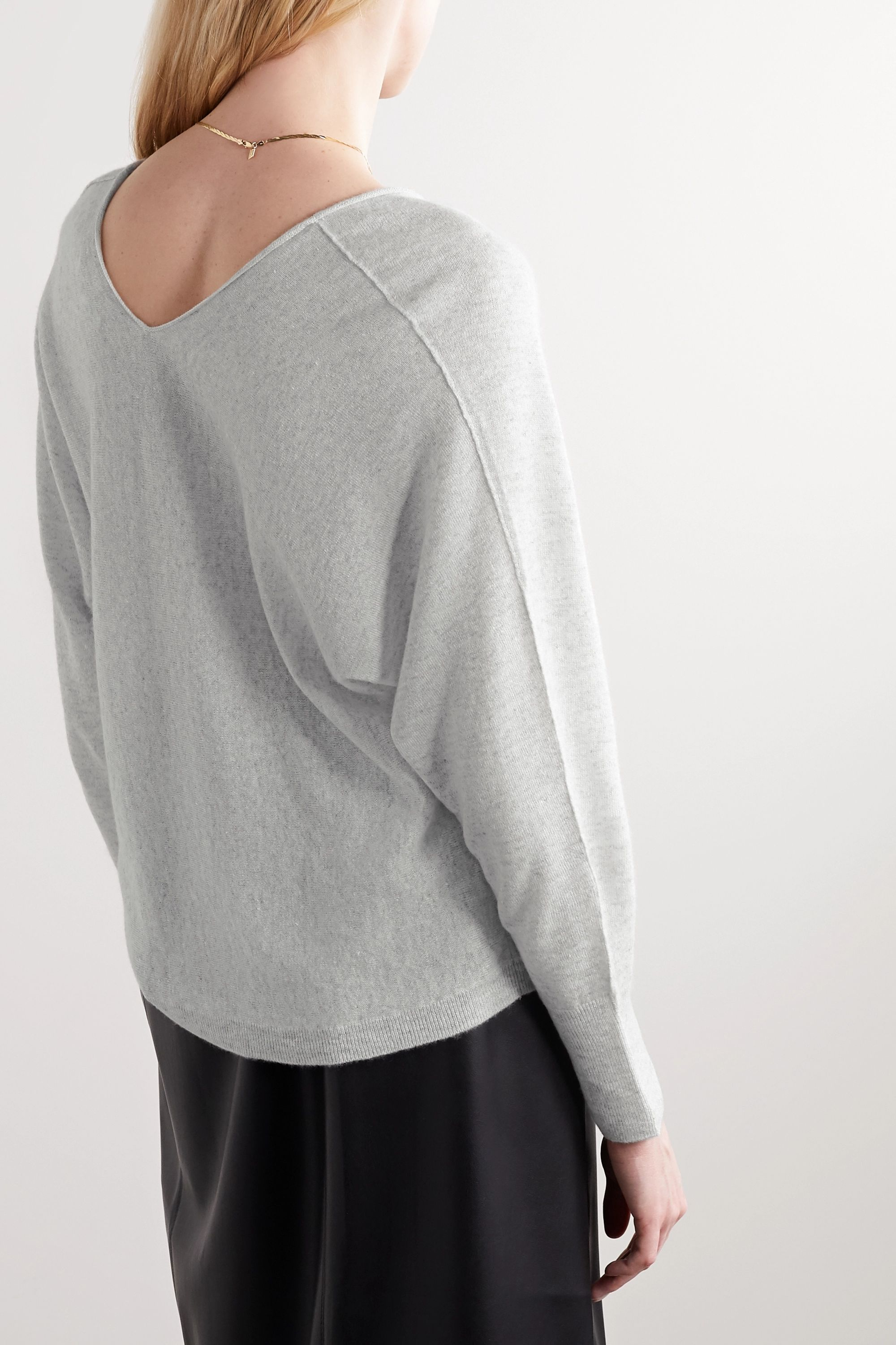 Vince Cashmere and linen-blend sweater
