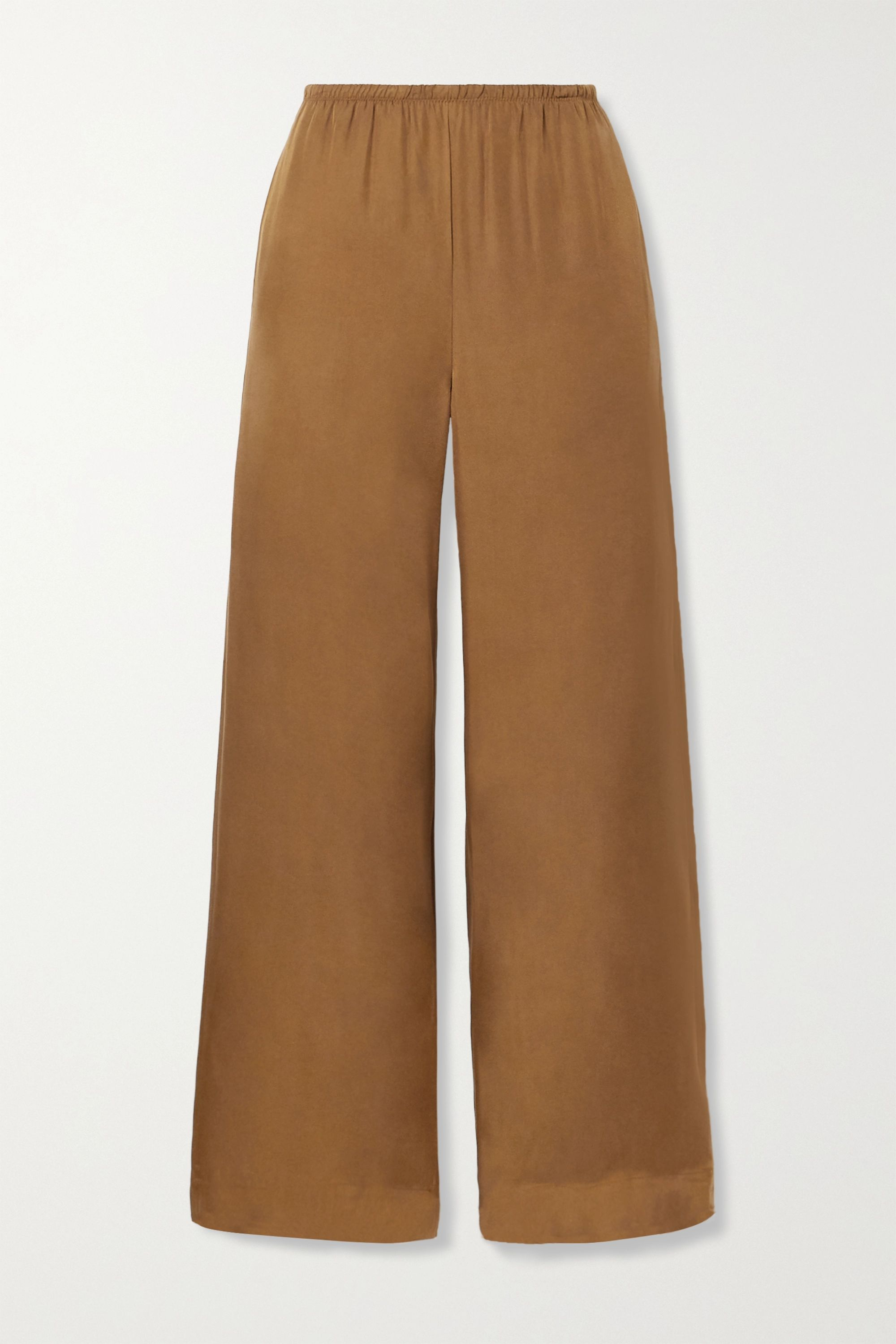 Vince Silk-blend wide-leg pants