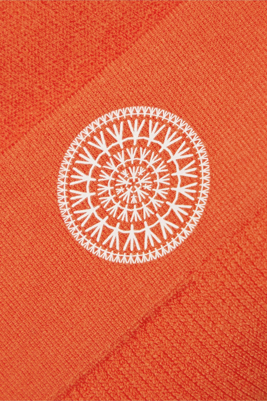 Nagnata Balati ribbed technical stretch-knit shorts