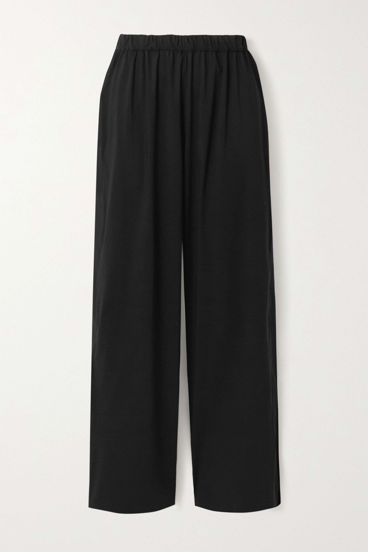 WONE Shell wide-leg track pants
