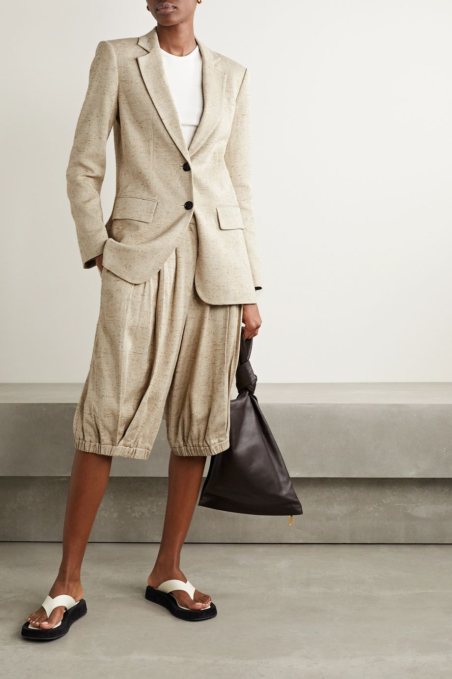 Tibi Tweed blazer