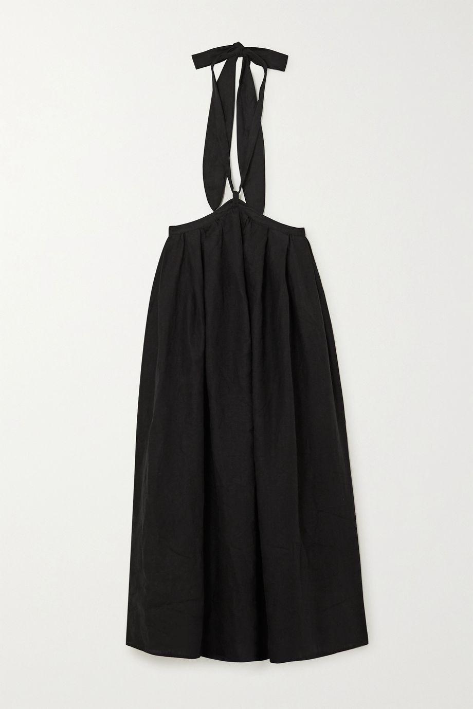 Mara Hoffman Graziella convertible linen maxi skirt