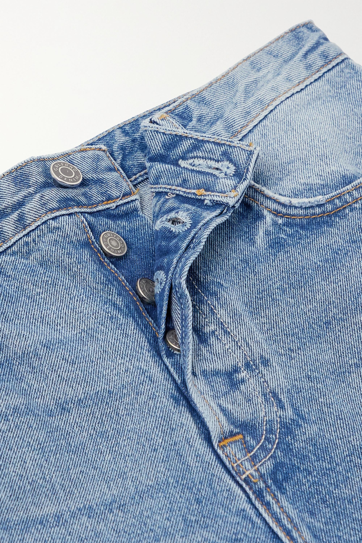 GRLFRND Devon high-rise straight-leg jeans
