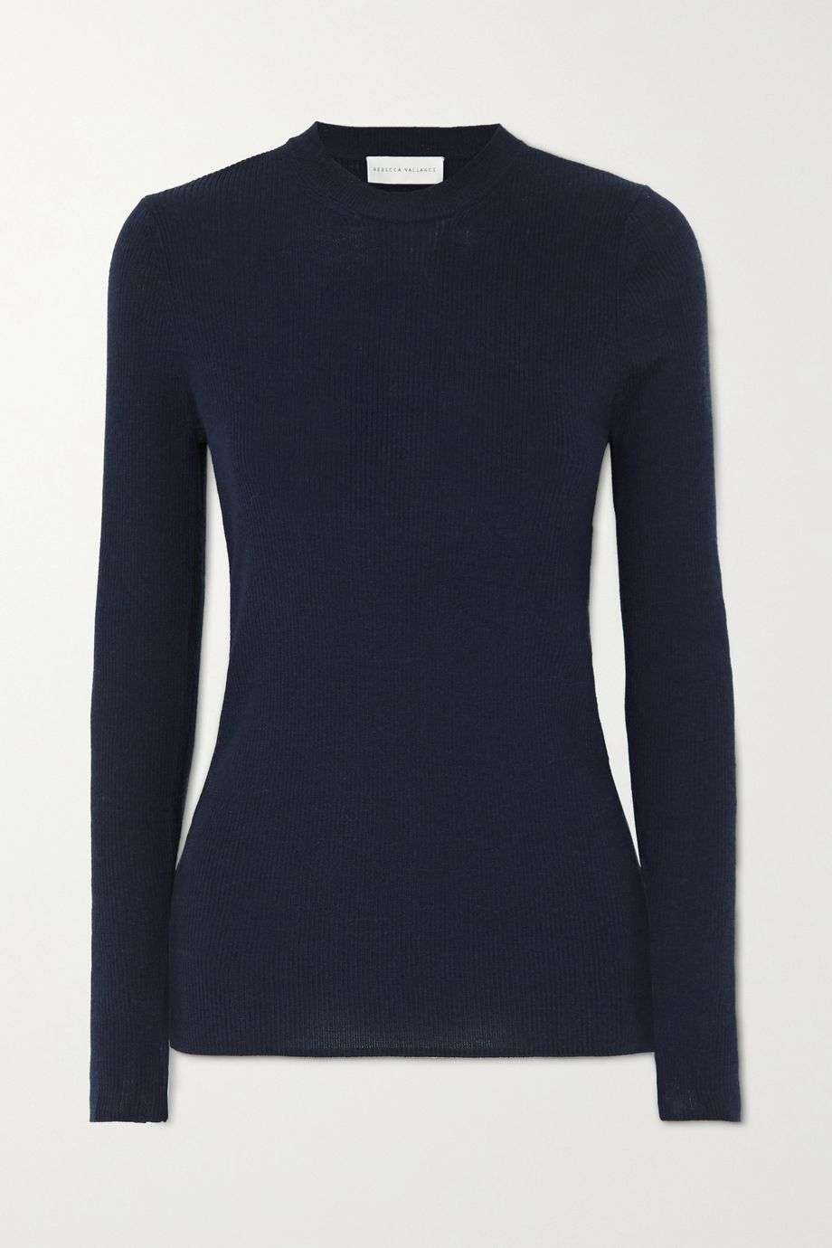 Rebecca Vallance Hinterland ribbed merino wool and silk-blend sweater
