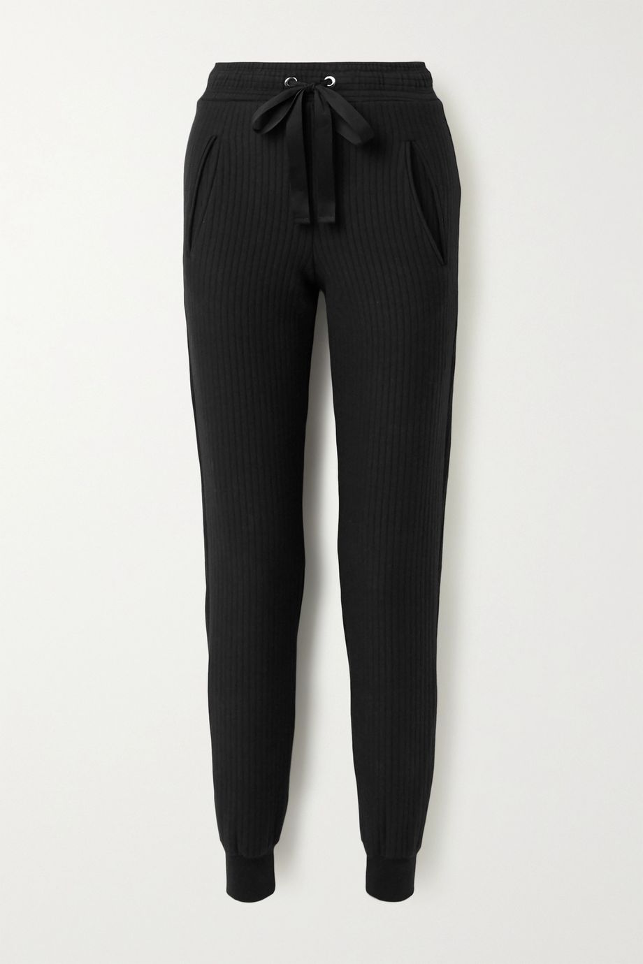 The Range Ripple ribbed stretch-cotton tapered track pants