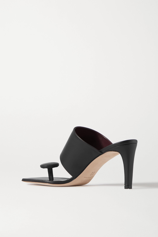 STAUD Luna leather mules