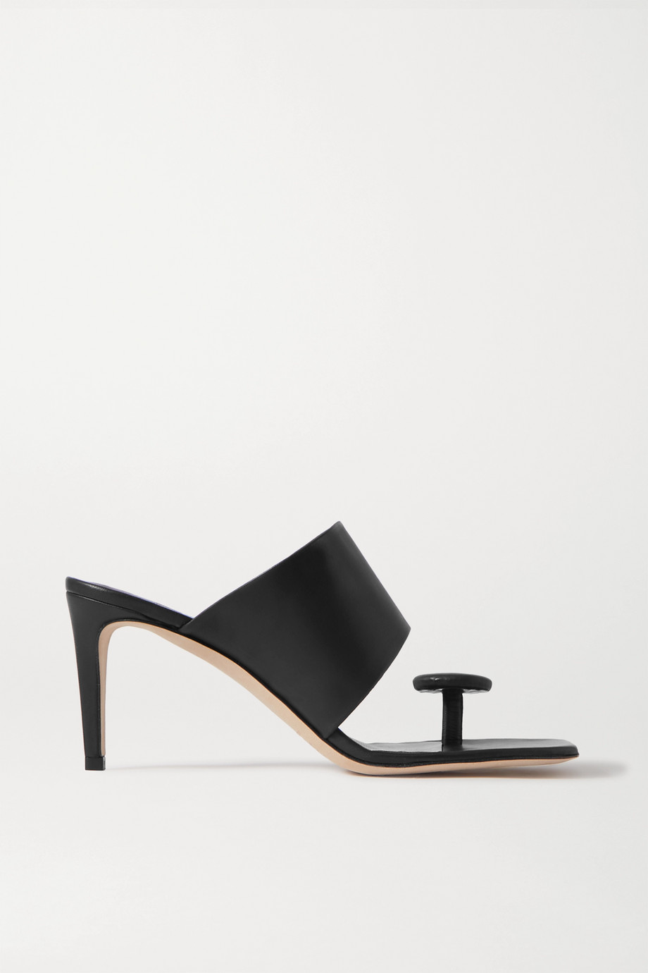 STAUD Luna leather mules