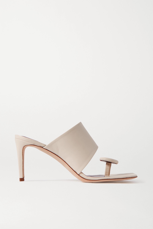 STAUD Luna 皮革穆勒鞋