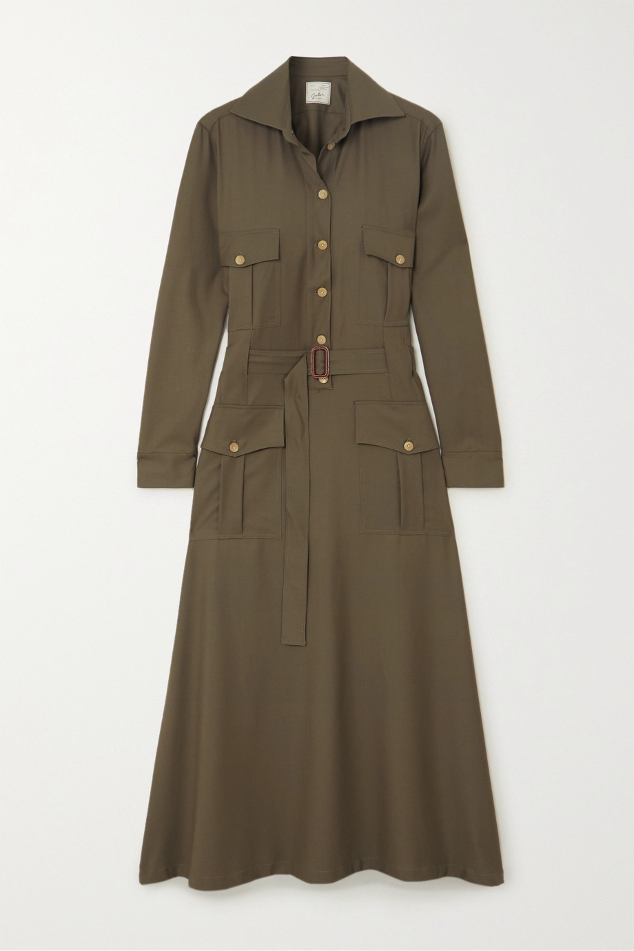 Giuliva Heritage + NET SUSTAIN + Space for Giants The Felicity belted shirt dress