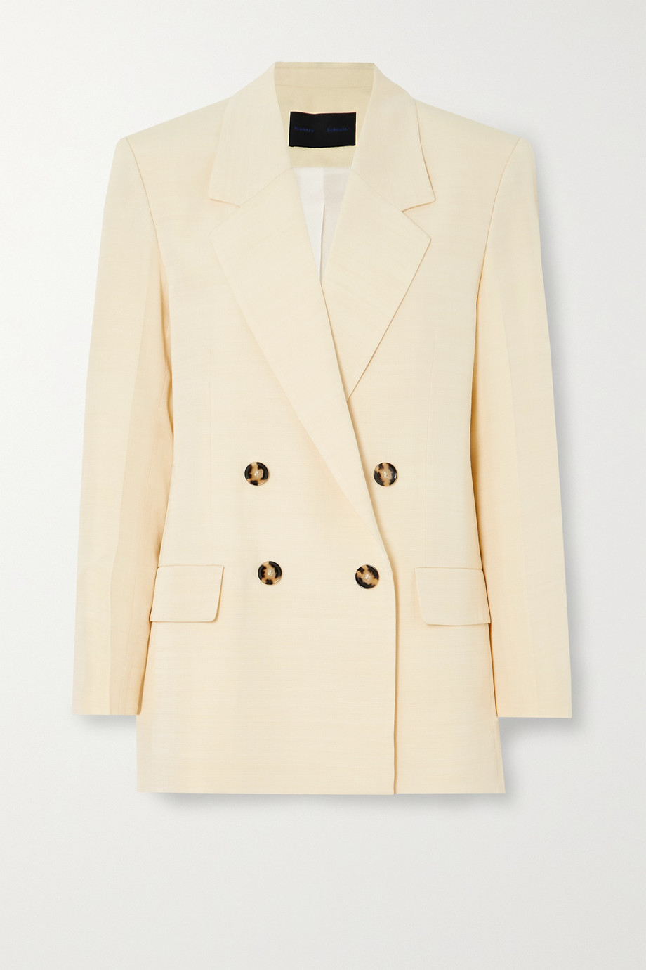 Proenza Schouler Double-breasted woven blazer