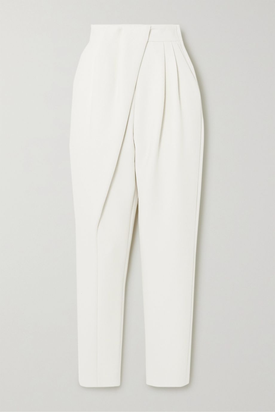 Proenza Schouler Draped wool-blend tapered pants