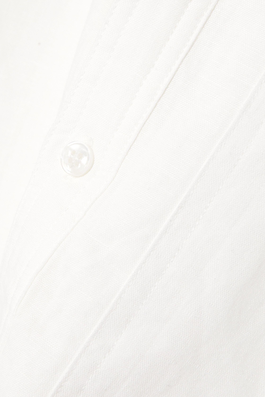 L.F.Markey Cosmo linen shirt