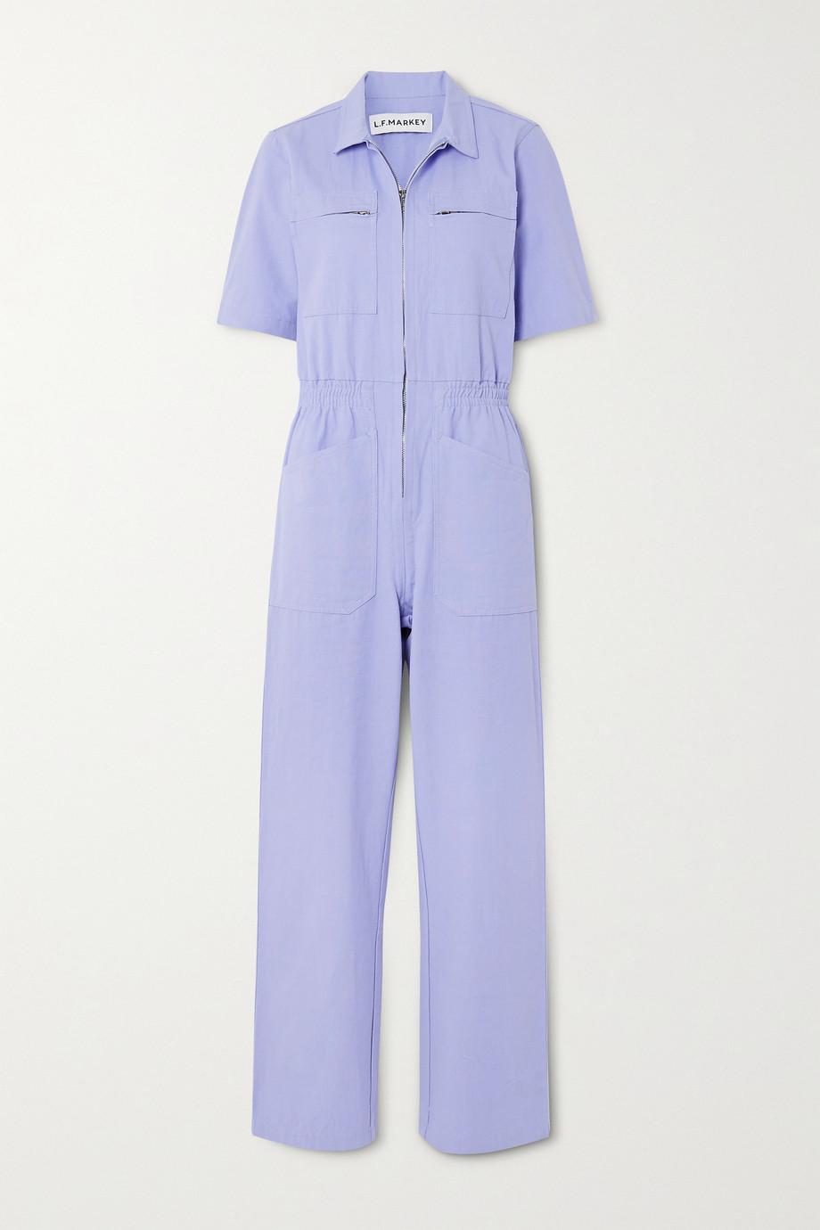 L.F.Markey Danny cotton-canvas jumpsuit