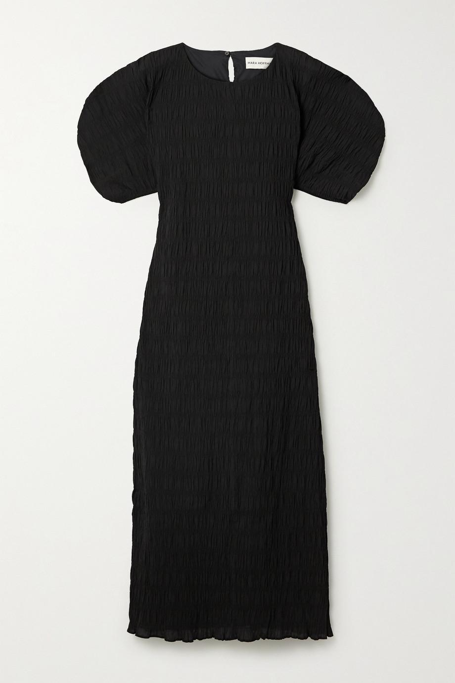 Mara Hoffman Robe midi en coton biologique stretch à smocks Aranza - NET SUSTAIN