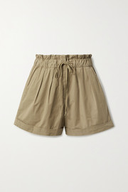 Giselle stretch-cotton shorts