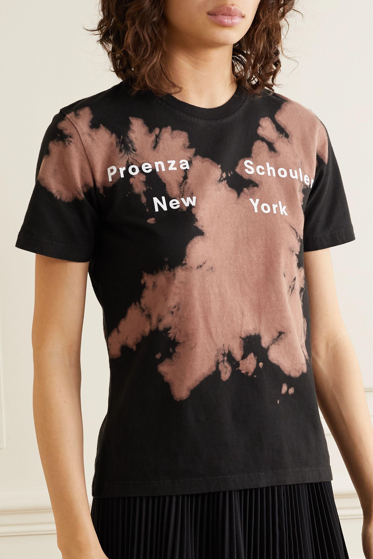 Proenza Schouler White Label Tie-dyed cotton-jersey T-shirt