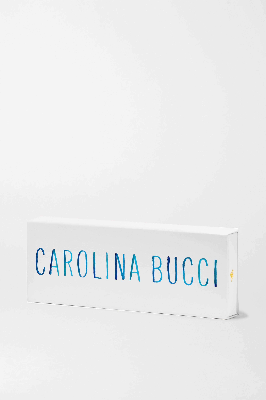 Carolina Bucci Reversible 18-karat gold, silk and diamond bracelet