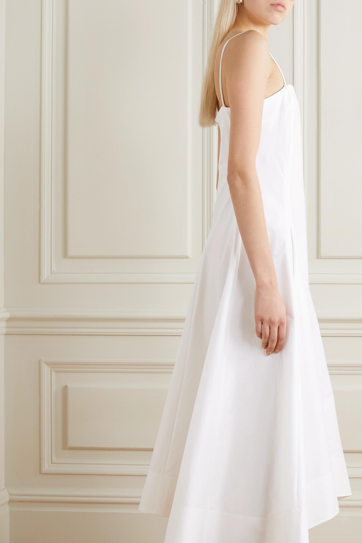 3.1 Phillip Lim Pleated cotton-blend poplin midi dress