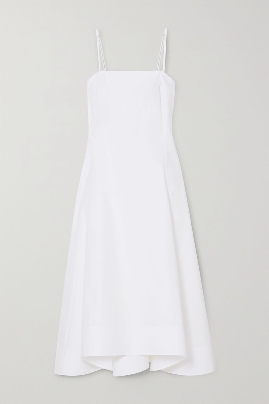 3.1 Phillip Lim Pleated cotton-blend poplin midi dress