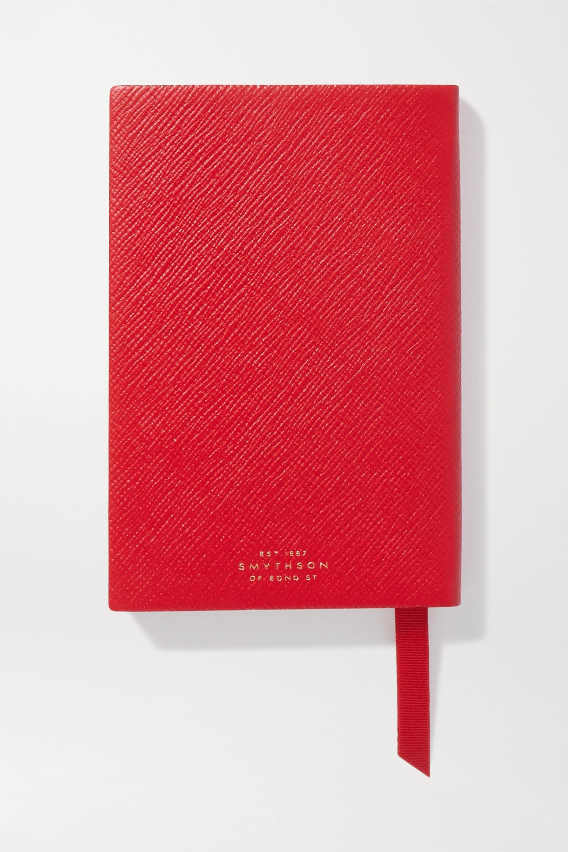 Smythson Panama Notes Notizbuch aus strukturiertem Leder