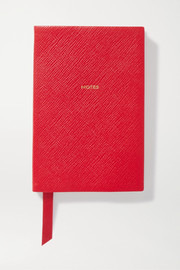 Panama Notes textured-leather notebook