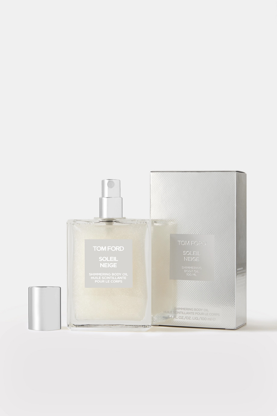 TOM FORD BEAUTY Soleil Neige Shimmering Body Oil - 01 Platinum, 100ml