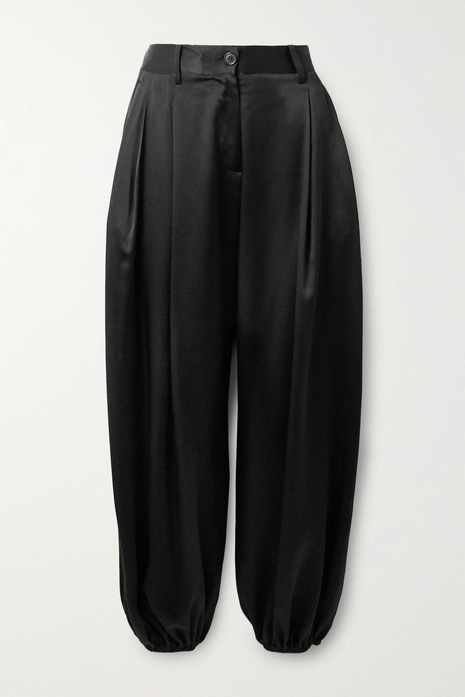 Nili Lotan Lisbon silk-charmeuse pants