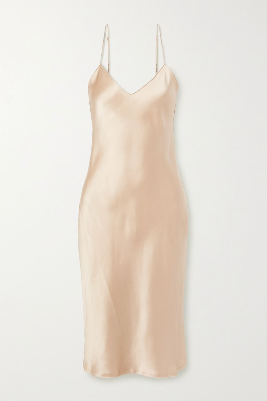 Nili Lotan Silk-charmeuse dress