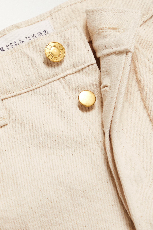 Still Here Short en jean effilé à perles Tate