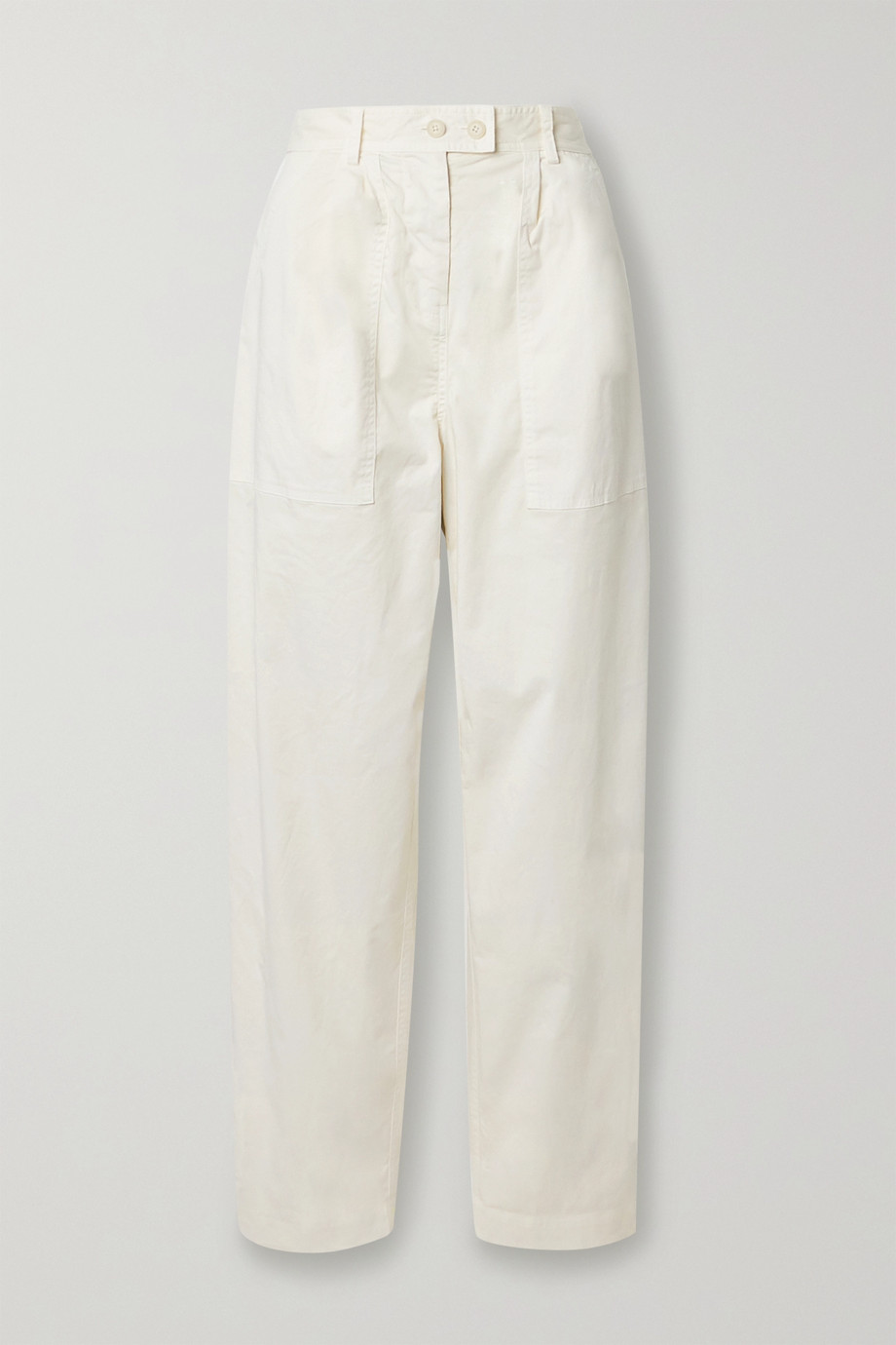 Nili Lotan Cyro stretch-cotton tapered pants