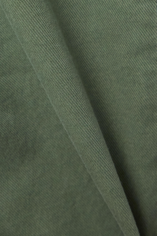 Nili Lotan Pantalon slim en serge de coton stretch effilé East Hampton