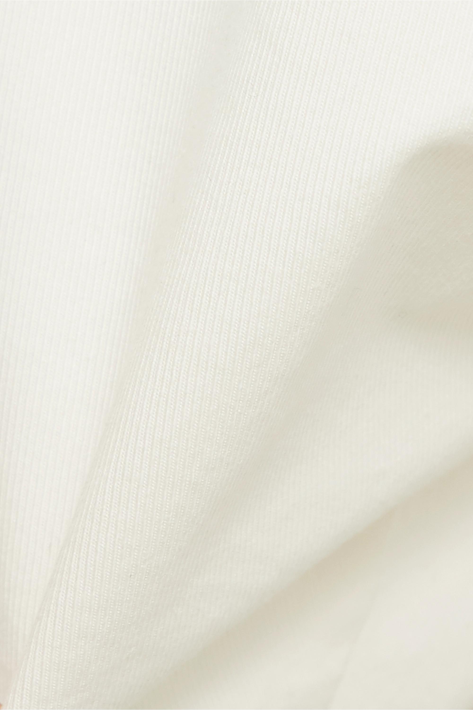 Nili Lotan Short en serge de coton stretch Granada