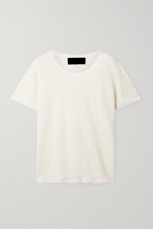 Nili Lotan T-shirt en lin Irving